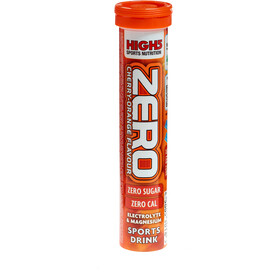 High5 Electrolyt Sports Drink Zero Tabs 20 Stück Cherry-Orange